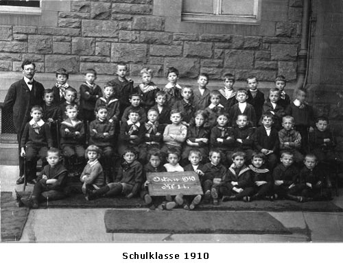 Gutenberg Schulklasse 1910