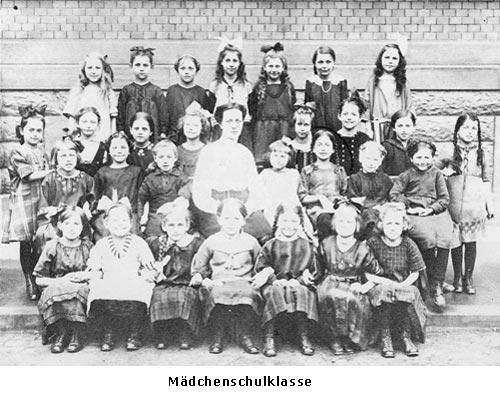 Gutenbergschule Maedchenklasse