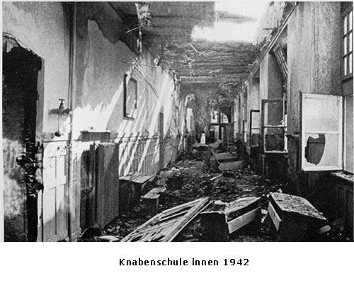 Knabenschule innen 1942